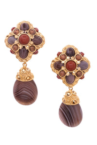 barrera-bead-drop-clip-on-earrings