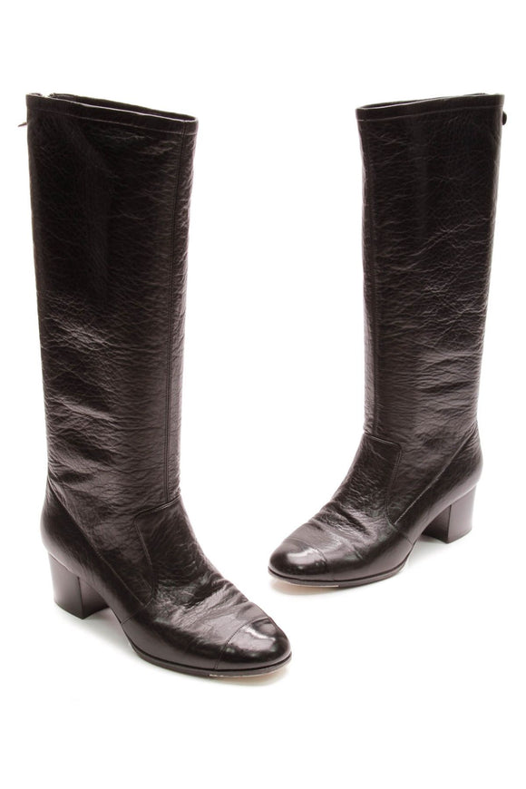 chanel-cap-toe-boots-black-leather