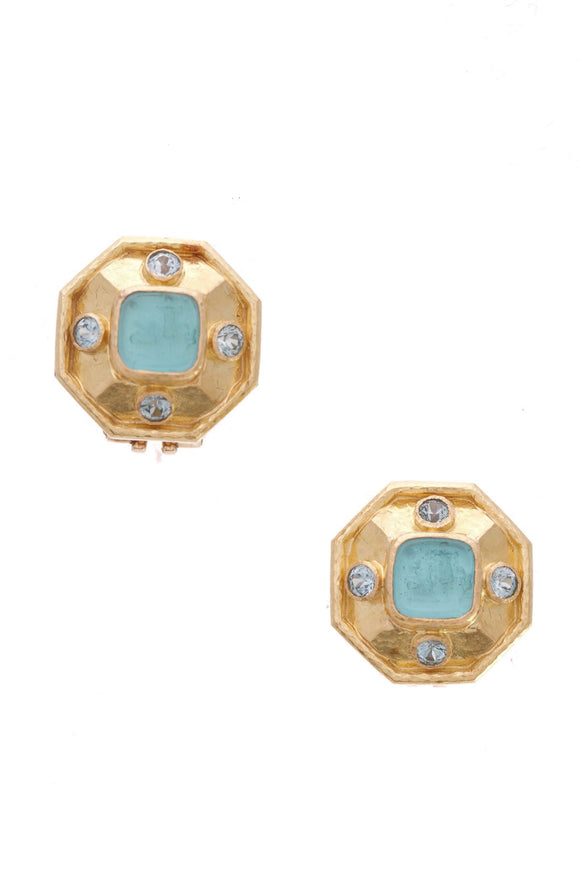 elizabeth-locke-intaglio-blue-zircon-earrings-19k-gold