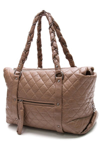 chanel-lady-braid-tote-bag-brown-leather
