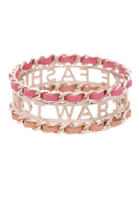chanel-make-fashion-not-war-bracelet-goldpink
