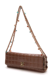 chanel-east-west-gripoix-flap-bag-brown-lambskin