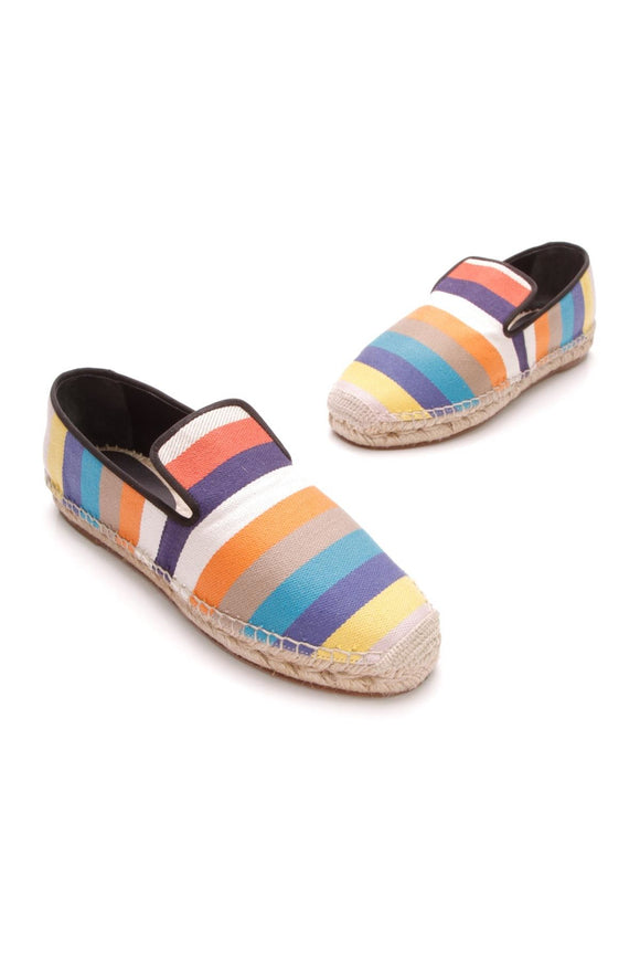 celine-stripe-espadrille-slipper-flats-multicolor