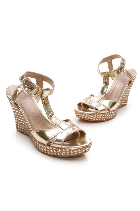stuart-weitzman-t-strap-cork-wedge-sandals-gold