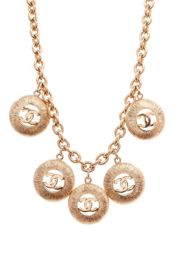 chanel-vintage-cc-logo-necklace-gold