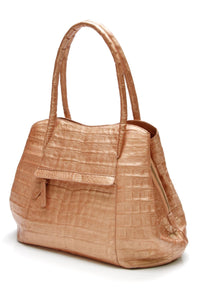 nancy-gonzalez-crocodile-satchel-bag-metallic-copper
