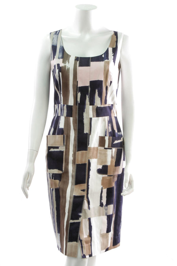 oscar-de-la-renta-multicolor-print-sleeveless-dress