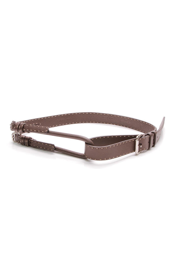 fendi-stitched-double-loop-belt-brown
