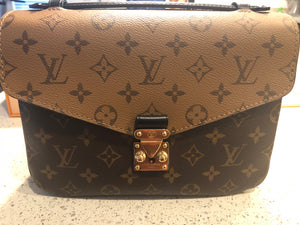Louis Vuitton Reverse Monogram Pochette Metis bag