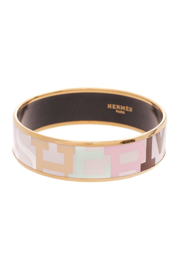 hermes-capitales-bangle-bracelet-goldpastel