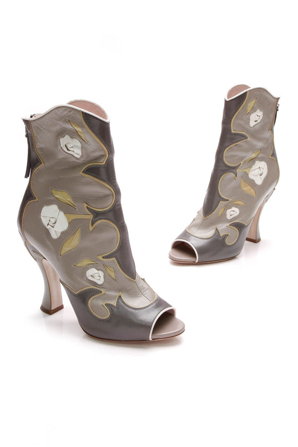 miu-miu-feather-rose-peep-toe-ankle-boots-gray