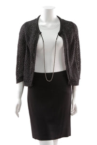 chanel-knit-chain-cardigan-black