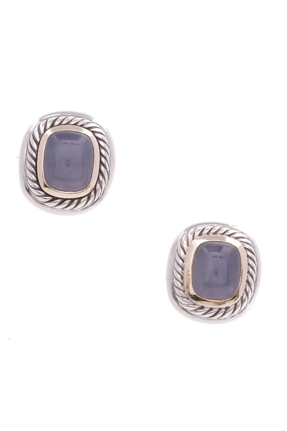 david-yurman-albion-earrings-blue-chalcedony