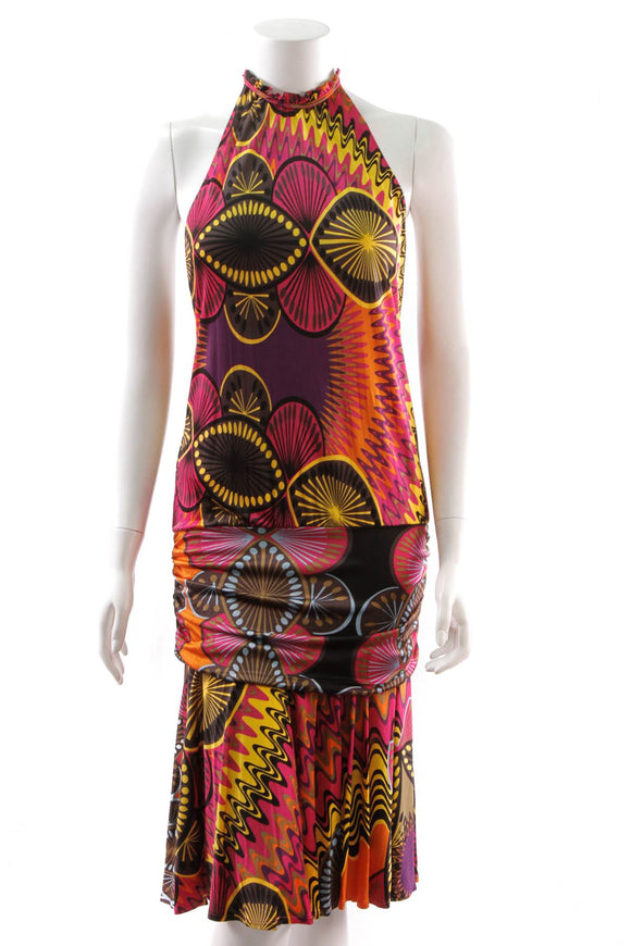 missoni-print-halter-dress-pink