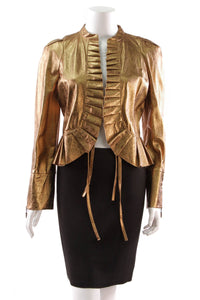 st-john-couture-leather-jacket-metallic-gold