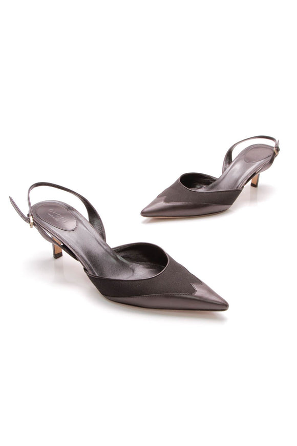 gucci-pointed-toe-slingback-heels-black