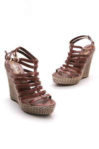 roberto-cavalli-metallic-wedge-sandals-brown