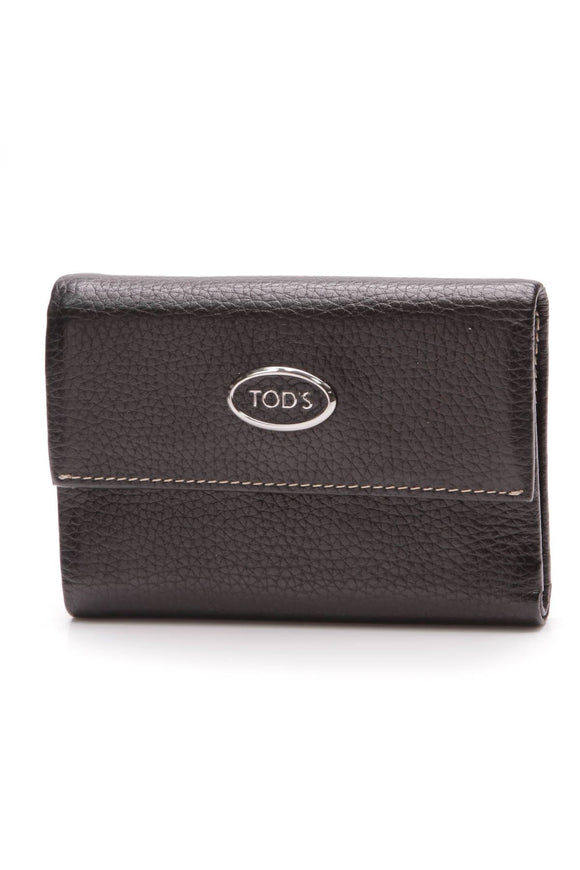 tods-compact-flap-wallet-black