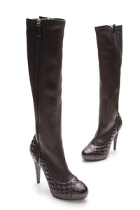 chanel-stretch-knee-high-boots-black