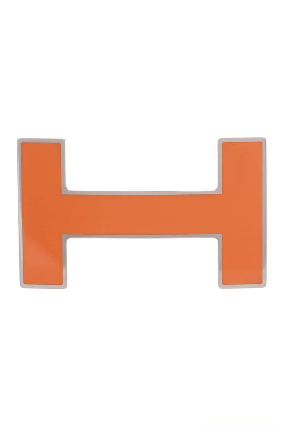 hermes-h-quizz-belt-buckle-orange