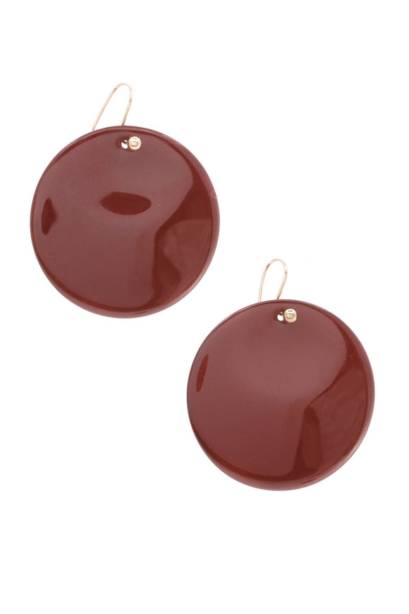 tiffany-hardwood-lacquer-round-earrings-18k
