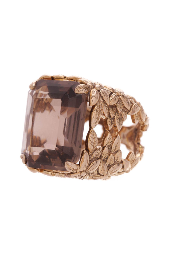 stephen-dweck-smoky-quartz-floral-ring-bronze