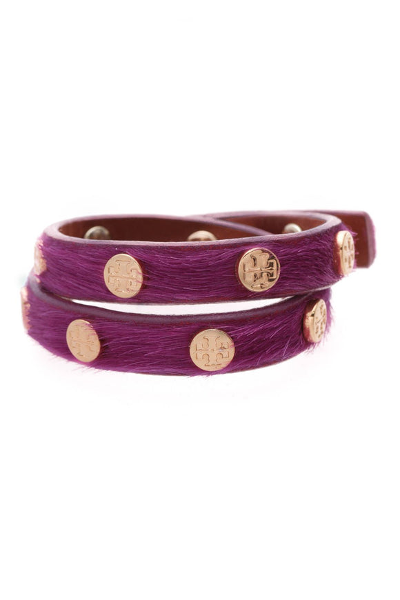 tory-burch-studded-wrap-bracelet-fuchsia-calf-hair