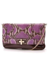 milly-kathryn-python-print-clutch-purplebrown