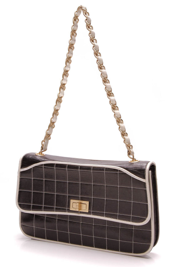 chanel-square-quilted-flap-bag-blackwhite
