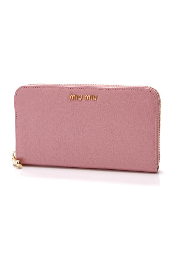 miu-miu-madras-zip-around-wallet-rosa-pink