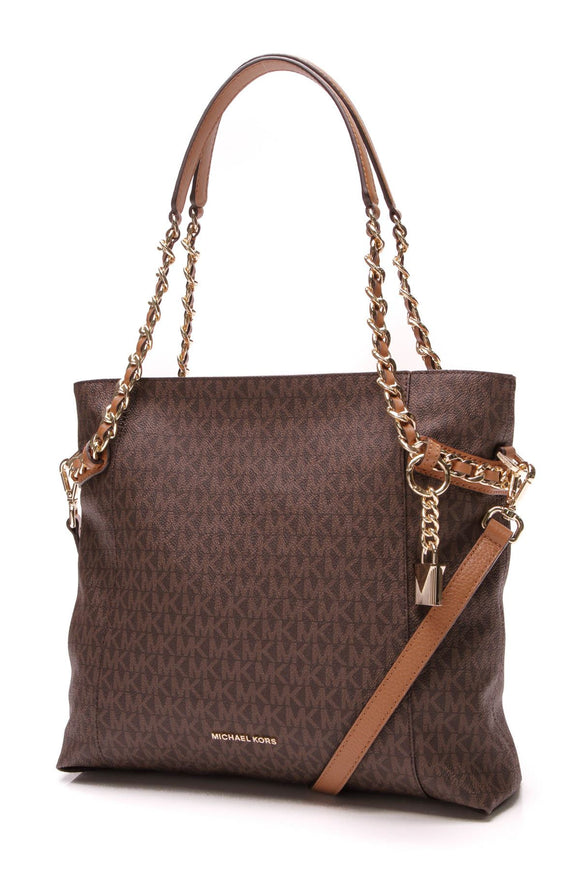 michael-michael-kors-remy-tote-bag-brown-logo-pvc