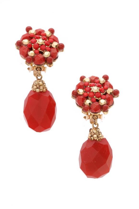 barrera-carnelian-drop-clip-on-earrings