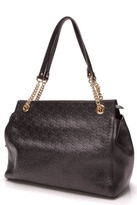 gucci-signature-large-shoulder-bag-black-guccissima
