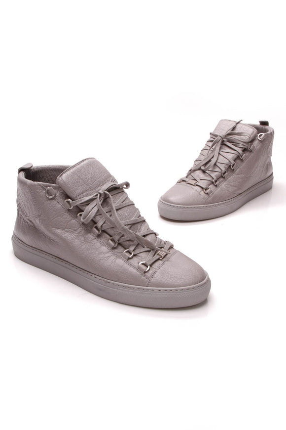 balenciaga-arena-mens-high-top-sneakers-gray-matte-lambskin