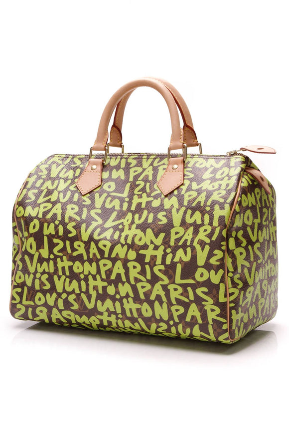 louis-vuitton-speedy-30-graffiti-bag-monogramgreen