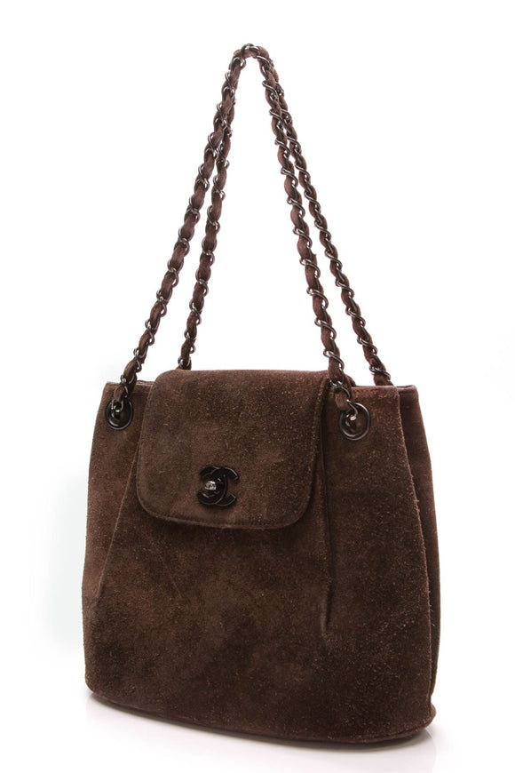 chanel-north-south-flap-bag-dark-brown