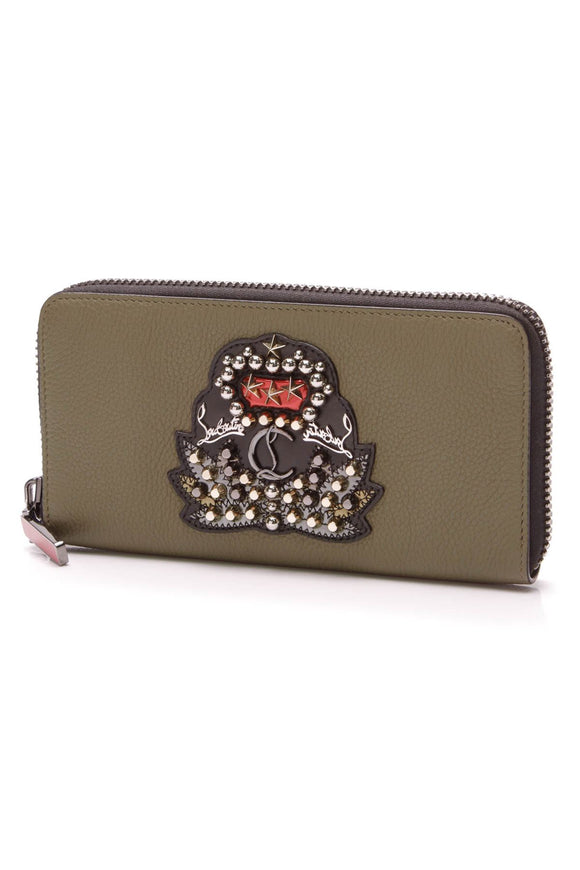 christian-louboutin-panettone-wallet-olive-green
