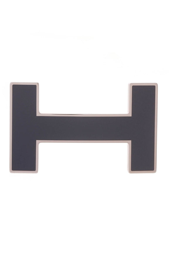H Quizz Belt Buckle - Navy