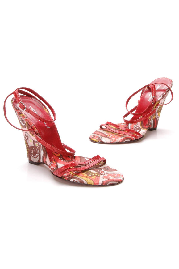 dolce-gabbana-paisley-wedge-sandals-red