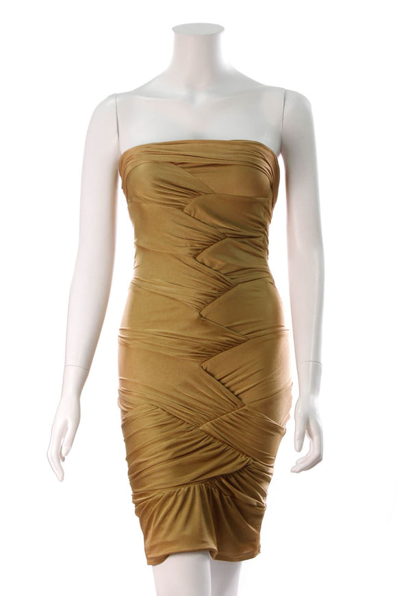 gucci-strapless-cocktail-dress-gold