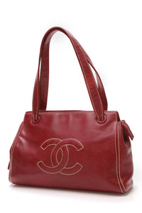 chanel-cc-tote-bag-red-caviar