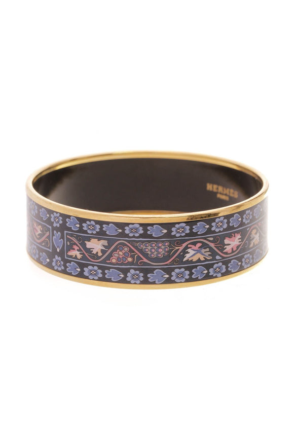 hermes-grapevine-wide-bangle-bracelet-gold
