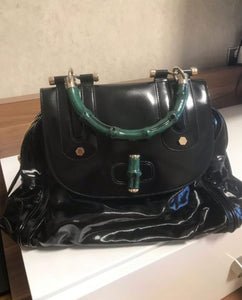 gucci Dialux top handle bag