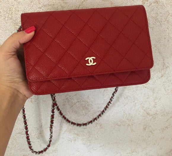 Chanel Quilted WOC bag