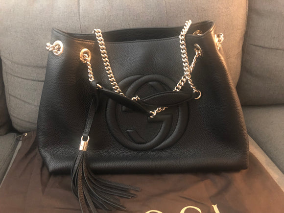 Gucci Soho Chain Tote bag