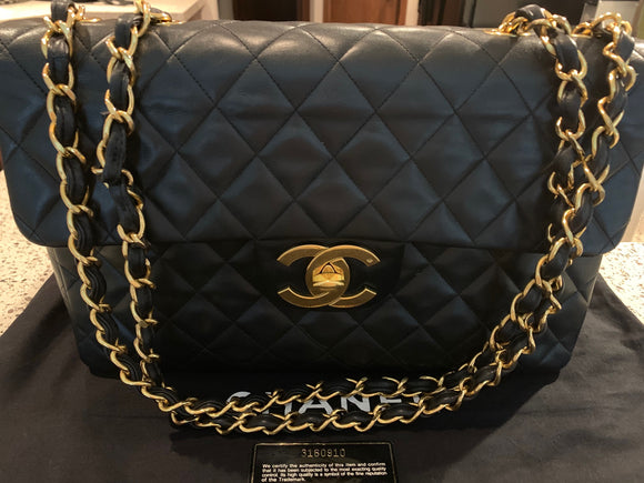 Chanel Vintage XL Jumbo Flap bag