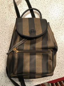 Fendi Vintage Pequin backpack