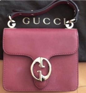 Gucci 1973 Flap Handle bag