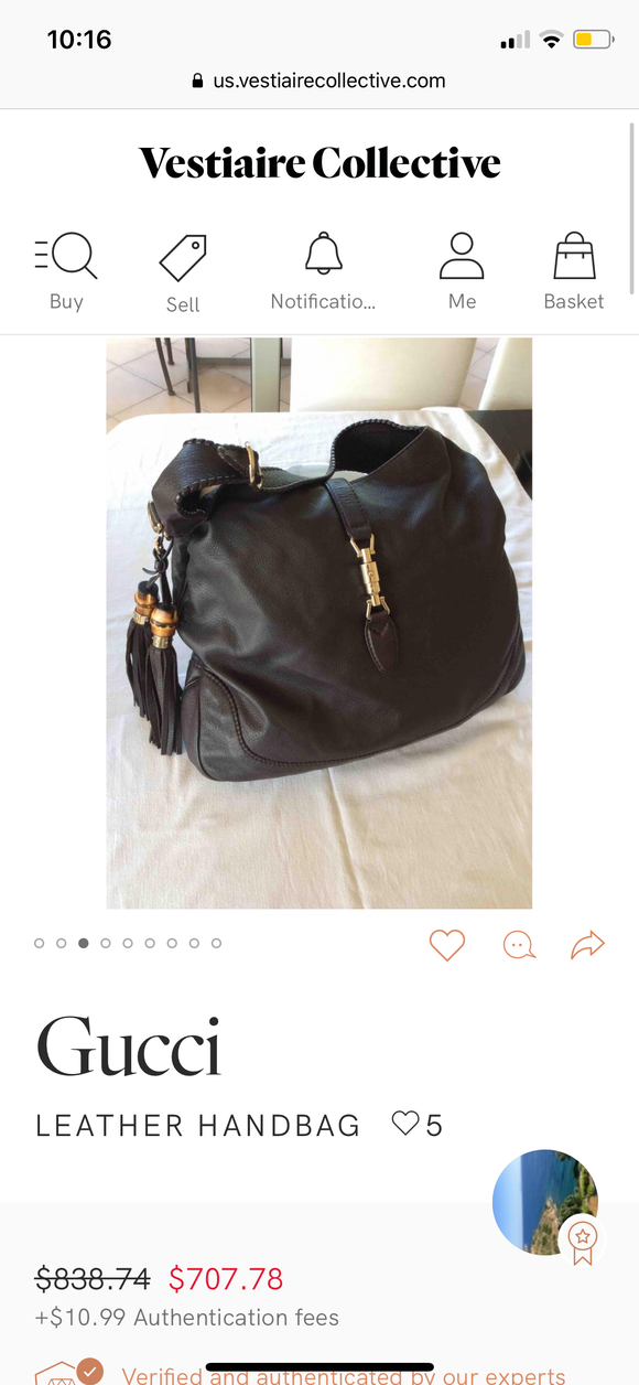 Gucci Large Jackie bag