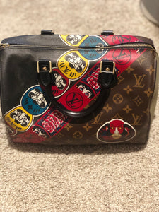 Louis Vuitton Kabuki Speedy 30 bag
